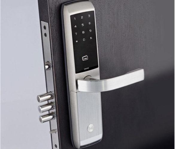 Entry Door Lock Installation